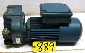 Sew Eurodrive Electric Motor 1 Hp W Gear Reducer 1700rpm To 100rpm Free Ship