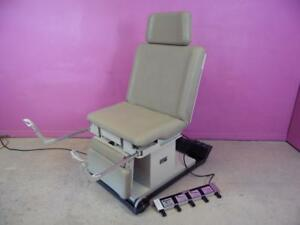 Hamilton 1k3 Electric Patient Procedure Exam Chair Obgyn Table On Cart W Wheels
