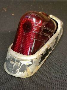 1938 1939 1940 Buick Special Roadmaster Limited Century Lh Tail Light Lens Busig
