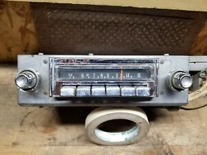 1955 1956 Chrysler Radio Mopar Model 835 Dodge Plymouth Am Radio Untested 344