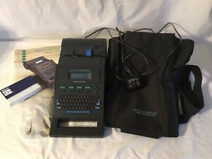 Brady Ls2000 Label Printer Labeling System With Case