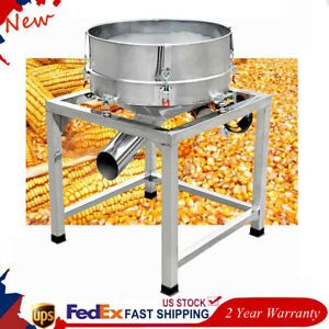Automatic Sifter Shaker Machine 300w Stainless Steel Electric Vibration Motor