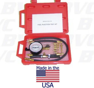 Made In Usa Fuel Injection Pressure Tester For Japanese Us Vehicles
