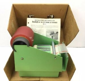 Vintage Scotch 3m Pouch Packing List Tape Dispenser M 747 Model 173