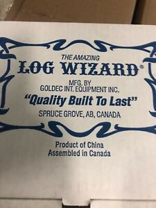 Log Wizard De barking Tool Chain Saw Attachment New In Box