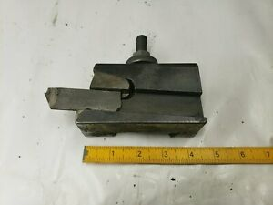 Aloris Ca7 Ca 7 Quick Change Parting Blade Tool Holder Used
