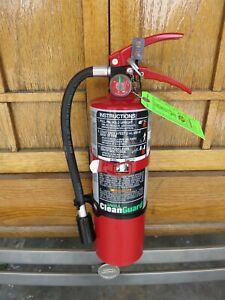 Full certified 5lb Ansul Clean Guard Fire Extinguisher Xlnt Condition