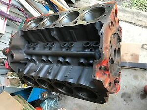 1969 Chevy 327 Block 3932386 4 Bolt 4 In Bore 302 350 Main Caps Needs Machined
