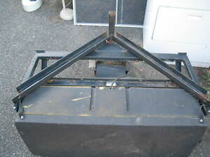 Snowex Snow Ex Sand And Salt Spreader Receiver Hitch Mounted Needs Repairs