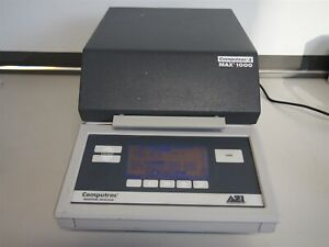 Arizona Instruments Computrac Max 1000 Rev K Moisture Analyzer