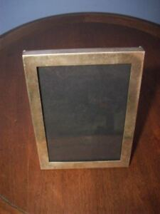 Vintage Hand Made Cartier Sterling Silver Photo Frame 422 4 X 5 1 4