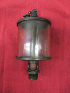 Very Nice Large Michigan Brass Hit And Miss Gas Engine Cylinder Oiler