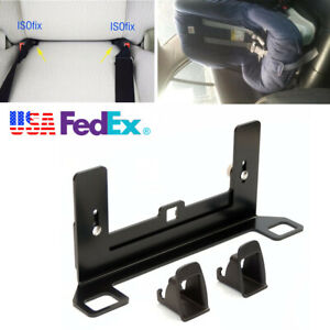 Latch isofix Car Seat Belt Interface Guide Bracket For Children Baby Safety Seat