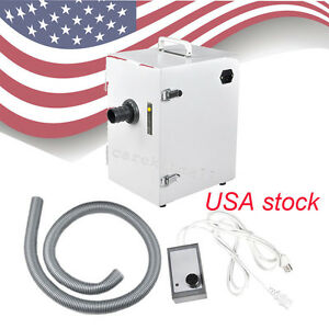 Digital Single row Dust Collector Collecting Vacuum Cleaner Dental Lab Equipment