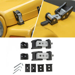 Car Hood Latches Hood Lock W Strong Catch For Jeep Wrangler Tj 1997 2006 Metal