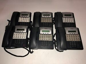 Lot Of 6 Comdial Conversip Ep100 24 button Digital Office Phones