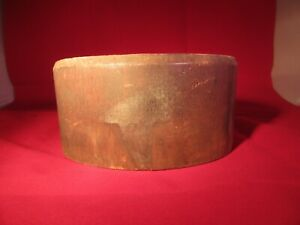 Antique Small Millinery Wood Hat Mold J M New York Size 7 1 8