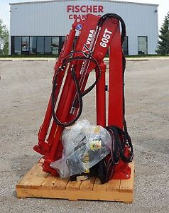 New Knuckleboom Crane Amco Veba 605t 4s Etr rrs 5 Ton Meter 25 500 Ft Lbs