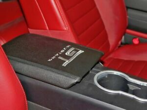 New 2005 2009 Ford Mustang Gt Arm Rest Cover W Gt Embroidery