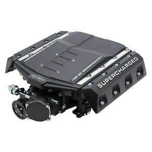 Edelbrock 1586 E Force Street Supercharger System Fits 15 17 Ford Mustang