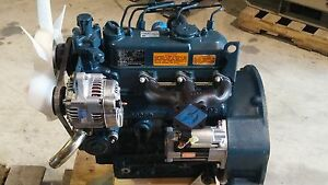 Kubota New D905 Diesel Engine 3 Cylinder