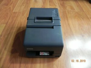 Epson Tm h6000iv M253a Pos Thermal Printer Usb Serial Ethernet No Ac Adapter