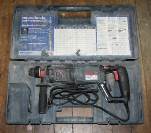 Bosch 11255vsr Bulldog Xtreme 1 Sds plus Rotary Hammer Drill W handle