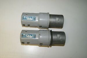 Crouse Hinds Apj6475 Arktite 60a Plug lot Of 2