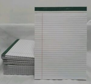 Lot Of 22 Legal Note Pads 40 Sheets Each Recycled Paper Products 8 1 2 X 11 3 4