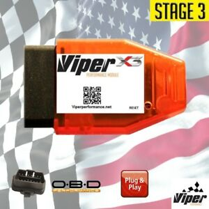 X3 Stage 3 Performance Chip Fuel Tuner Engine Programmer Plug Play For Chevrolet