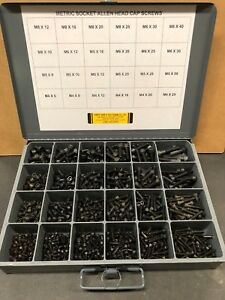 1370pcs Assortment Kit Metric Socket Head Cap Screw With Bin Included
