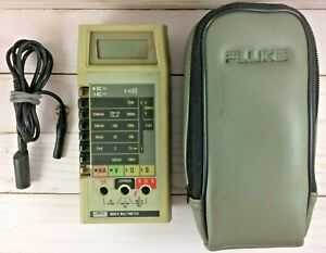 Fluke 8020b Handheld Digital Meter Multimeter
