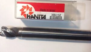 Hanita 5an319057d Carbide Alusurf 3fl Cr End Mill 3 4 X 3 4 X 1 X 6 90