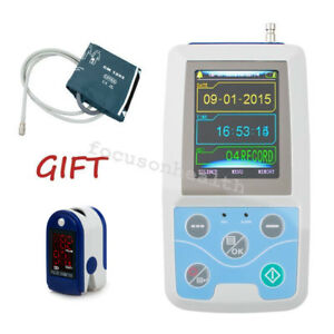 Us Contec 24h Ambulatory Blood Pressure Monitor Abpm Holter Ecg free Oximeter Ce