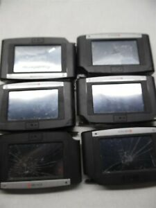 Lot Of 6 Kronos Intouch 9000 Time Clocks For Parts Or Repair