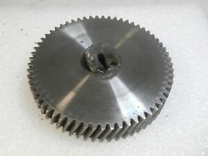 Steampunk Steel Helical Gear Machine Age Industrial Lamp Parts 9