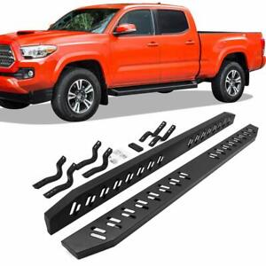 78 Side Step For 05 19 Toyota Tacoma Double Cab Running Boards Nerf Bars Iboard