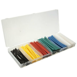 100pcs 4 Inch 2 1 Heat Shrink Tubing Tube Sleeving Wrap Cable Wire 6 Color New