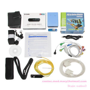 12 Lead Stress Ecg Analysis System exercise Equipment software contec8000s New