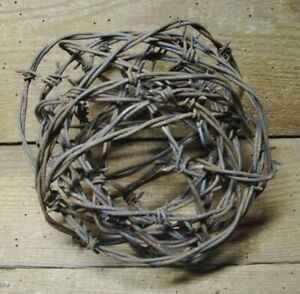 Large Ball Of Rusty Wire 17 Farm Fresh 12 Ft