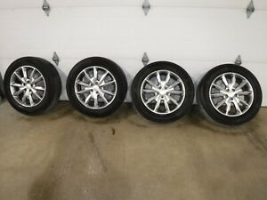 One 2014 18 Jeep Cherokee 18 Wheel And Continental Pro Contac Tire 225 60 R18