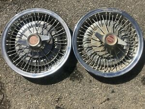 Pontiac Gto Tempest Lemans1964 1965 1966 Two Wire Wheelcovers