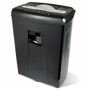 Aurora Au650ma High security 6 sheet Micro cut Paper Credit Card Shredder