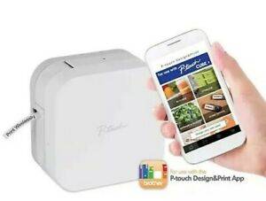 Brother P touch Cube Smartphone Label Maker Bluetooth Wireless Ptp300bt