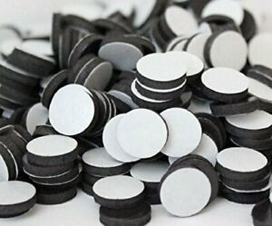 Flexible Magnets 1 2 Round Disc With Adhesive Backing 1 000 Pcs