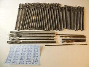 Aircraft Tools 50 Assorted Hss Spiral Reamers 0 163 To 0 576 l a40