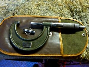 Lufkin 1942v 1 2 Ratchet Micrometer With Standard