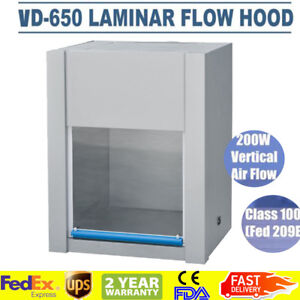 Vertical Ventilatio n Laminar Flow Hood Air Flow Clean Bench Workstatio n Ca