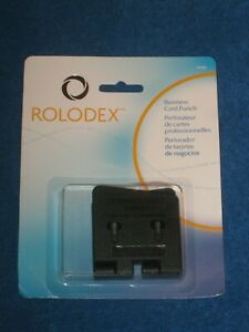Rolodex Business Card Plastic Punch 67699 New In Package