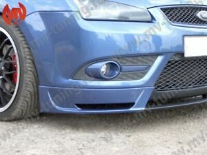 Front Lip pad Skirt Style Body Kit For Cabri Bumper Ford Focus 2 Gen 2004 2008